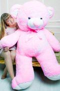 Розовый плюшевый мишка Томи 2 метра