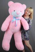 Розовый плюшевый мишка игрушка